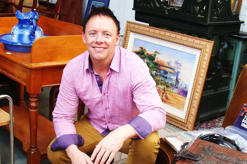 The Living Room host Jason Cunningham
