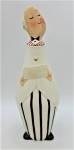 Lot 147 - Mid century Modern Holt Howard 1961 Geeves the Butler Decanter - made in Japan - 26cm H