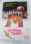 Lot 6 - Vintage R Rated One Sheet Movie Poster - Arabian Nights - Pub by Maps Litho, soe damage sighted to bottom corners
