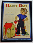 Lot 37 - Happy Days 1920s children's book illustrated by Muriel Dawson - Raphael Tuck & Sons, England -gc