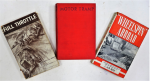 Lot 38 - 3 x Vintage Motoring Books - Full Throttle 1948 ed by Sir Henry Birkin, Wheelspin Abroad 1049 ed By CAN May + Motor Tramp 1935 ed By John Heygate