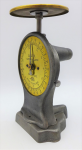 Lot 130 - Vintage English Salter Letter Scales No 11 -  Brass plate and dial 18cm H