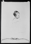 Lot 151 - James Arden Grant (British, 1887-1974) Unframed Etching - Portrait of a Child - Signed Jas A Grant in pencil lower right under plate - paper size 295x